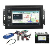 Autoradio Android 9.1 écran tactile GPS DVD Dodge Ram Pickup et Dodge Durango (Remplace autoradio NAV d'origine)