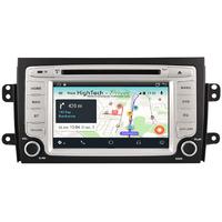 Autoradio Android 9.1 GPS Fiat Sedici de 2006 à 2014