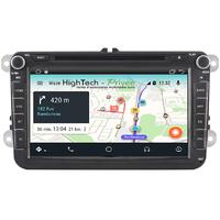 Autoradio Android 9.1 GPS Wifi DVD Mains libres Volkswagen Amarok, Coccinelle, Sharan et Transporter depuis 2010
