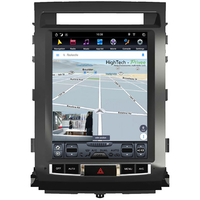 Tablette tactile Tesla Style Toyota Land Cruiser 200 de 2008 à 2015 : Android 8.1 GPS Wifi Bluetooth