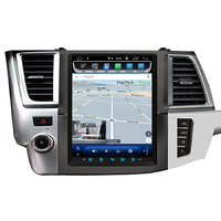 Tablette tactile Tesla Style Toyota Highlander depuis 2015 : Android 8.1 GPS Wifi Bluetooth