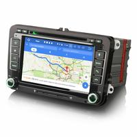 Poste Android 9.0 GPS USB DAB+ Mains libres Volkswagen Golf de 2003 à 2012