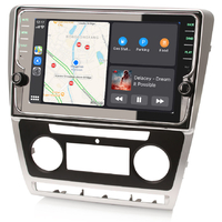 Ecran tactile Android et Apple Carplay GPS Wifi DAB+ Bluetooth Skoda Octavia de 2008 à 2013
