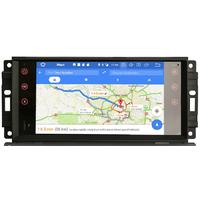 Auto radio Android DAB+ GPS Waze Wifi écran tactile Dodge Avenger Caliber Charger Dakota Journey Nitro Durango et RAM Pickup