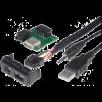 Adaptateur de récupération du port USB d'origine pour Mazda 2, Mazda 3, Mazda 5, Mazda 6, CX-5 et CX-7
