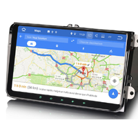 Autoradio Android Volkswagen  - Android 9.0 GPS USB Bluetooth écran tactile 9""