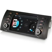 Autoradio GPS BMW Série 5 E39, X5 E53 DVD Bluetooth