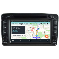 Autoradio Android 9.0 GPS Mercedes Benz Classe A W168, Classe C W203, Classe E W210, ML W163, CLK, SLK W170, Classe G, Viano & Vito