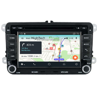 Autoradio Android 9.1 Volkswagen Eos, Golf 5 & 6, Caddy, Scirocco, Polo, Tiguan, Touran, Passat CC, Amarok, Coccinelle, Seat Leon, Alhambra et Skoda Fabia, Octavia, Superb, Yeti, Roomster & Rapid - GPS DVD USB Bluetooth écran tactile 7""