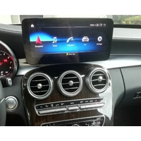 Autoradio tactile Android 10.0 et Apple Carplay Mercedes Classe C et GLC de 2015 à 2018