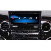 Autoradio tactile Android 10.0 et Apple Carplay Mercedes Classe V depuis 2015