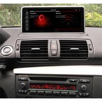 Autoradio tactile Android 10.0 et Apple Carplay BMW Série 1 de 2006 à 2012