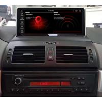 Autoradio tactile Android 10.0 et Apple Carplay BMW X3 de 2004 à 2010