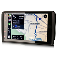 Autoradio tactile GPS Android 10.0 et Apple Carplay Audi A3 de 2003 à 2012