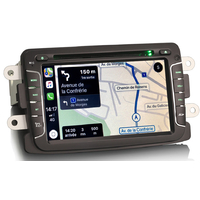 Autoradio tactile GPS Android 10.0 et Apple Carplay Renault Captur, Trafic, Master de 2014 à 2019