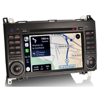 Autoradio tactile GPS DVD et Apple Carplay Mercedes Benz Classe A, Classe B, Vito et Viano