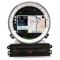 Autoradio tactile GPS Android 9.0 et Bluetooth Mini Cooper, Cabriolet et Clubman de 2006 à 2013