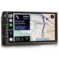 Autoradio tactile GPS Android 10.0 et Bluetooth Nissan Juke, Micra, Navara, X-Trail, Qashqai et Pathfinder