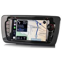 Autoradio tactile GPS Android 9.0 et Bluetooth Seat Ibiza de 06/2008 à 2013