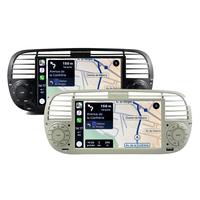 Autoradio tactile GPS Android 10.0 et Bluetooth Fiat 500 de 2007 à 2015