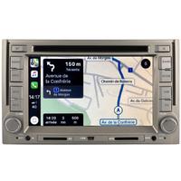 Autoradio tactile GPS Android 10.0 et Bluetooth Hyundai H1 02/2008 à 06/2015