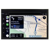 Autoradio tactile GPS Android 10.0 et Bluetooth Peugeot 207, Peugeot 307, Expert et Partner