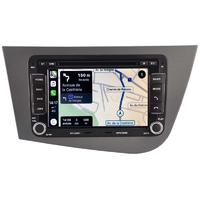 Autoradio tactile GPS Android 10.0 et Bluetooth Seat Leon de 09/2005 à 10/2012