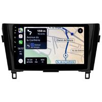Autoradio tactile GPS Android 10.0 et Apple Carplay sans fil Nissan X-Trail et Qashqai de 2014 à 2020