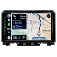 Autoradio tactile GPS Android 10.0 et Apple Carplay sans fil Suzuki Jimny depuis 2019