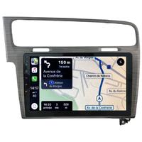 Autoradio tactile GPS Android 10.0 et Apple Carplay sans fil Volkswagen Golf de 2013 à 2020