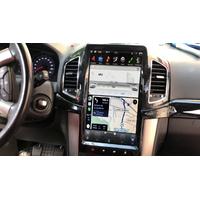 Ecran Tesla Style GPS Android 9.0 et Apple Carplay Chevrolet Captiva de 2011 à 2018