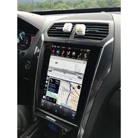 Ecran Tesla Style GPS Android 8.1 et Apple Carplay Ford Explorer de 2011 à 2019