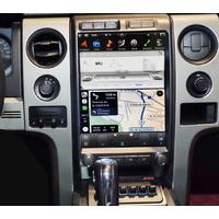 Ecran Tesla Style GPS Android 8.1 et Apple Carplay Ford F150 de 2009 à 2014