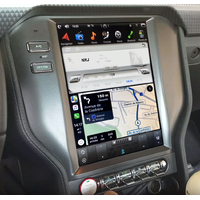 Ecran Tesla Style GPS Android 9.0 et Apple Carplay Ford Mustang depuis 2015