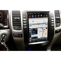 Ecran Tesla Style GPS Android 9.0 et Apple Carplay Toyota Land Cruiser de 2002 à 2009