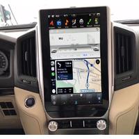 Ecran Tesla Style GPS Android 8.1 et Apple Carplay Toyota Land Cruiser depuis 2016