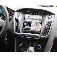 Ecran Tesla Style GPS Android 9.0 et Apple Carplay Ford Focus de 2012 à 2018