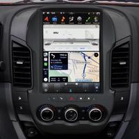 Ecran Tesla Style GPS Android 9.0 et Apple Carplay Ford Ranger de 2012 à 2015