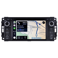 Autoradio tactile GPS Android 10.0 et Apple Carplay Jeep Commander Liberty Grand Cherokee et Patriot Wrangler