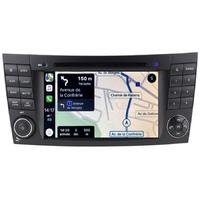 Autoradio tactile GPS Android 10.0 et Apple Carplay Mercedes Benz Classe E W211 et Classe G W463 et CLS