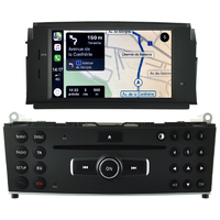 Autoradio tactile GPS Android 10.0 et Apple Carplay Mercedes Classe C W204 de 2007 à 2011
