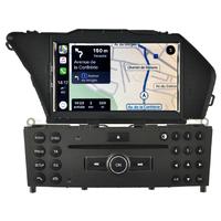 Autoradio tactile GPS Android 10.0 et Apple Carplay Mercedes GLK X204 de 2008 à 2012