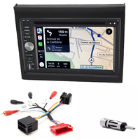 Autoradio tactile GPS Android 10.0 et Apple Carplay Porsche 911 996 de 1996 à 2004