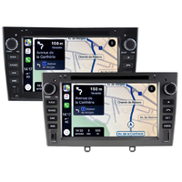 Autoradio tactile GPS Android 10.0 et Apple Carplay Peugeot 308 et Peugeot RCZ