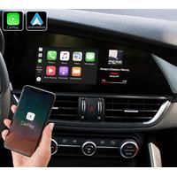 Système Apple Carplay sans fil et Android Auto pour Alfa Romeo Giulia depuis 2016