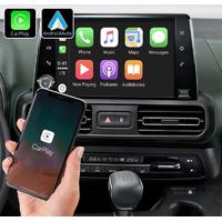 Système Apple Carplay sans fil et Android Auto pour Peugeot Partner depuis 2018