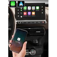 Système Apple Carplay sans fil et Android Auto pour Citroën C4 cactus de 2014 à 2020