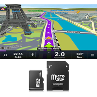 Carte 4Go GPS Sygic 3D officielle - Europe de l'Ouest