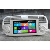 Autoradio GPS Fiat 500 façade blanche