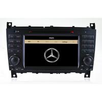 Autoradio GPS Mercedes Benz Classe C W203 & CLC